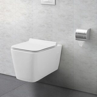 Swiss Madison® Concorde® Wall Hung White Toilet Bowl