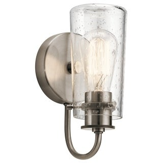 Kichler Lighting Braelyn Collection 1-light Pewter Wall Sconce