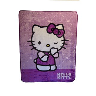 "Hello Kitty ""Wink Wink"" Blanket"