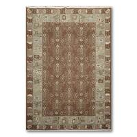 "Hand Knotted Soumak Reversible Oriental Rug - 5'10""x8'10"""