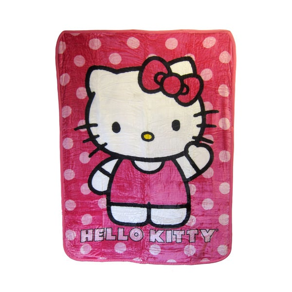 "Hello Kitty ""Hey There"" Blanket"