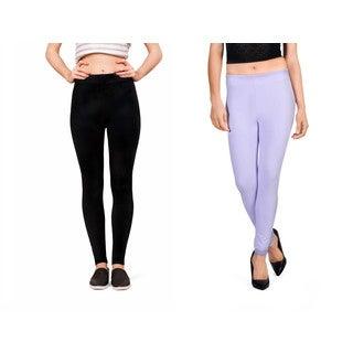 Bluberry Women's Leggings (Pack of 2)