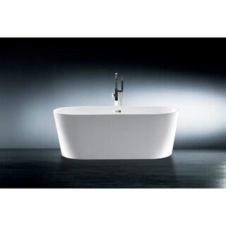 "Aarhus 60"" Oval Freestanding Bathtub"