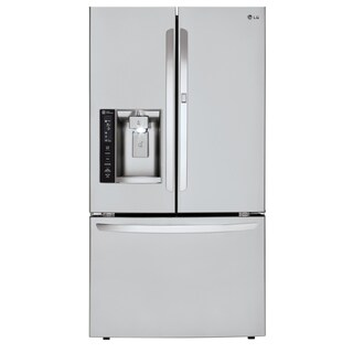 LG LFXS27466S 27 cu. ft. Capacity 3-Door French Door Refrigerator w/ Door-in-Door® in Stainless Steel
