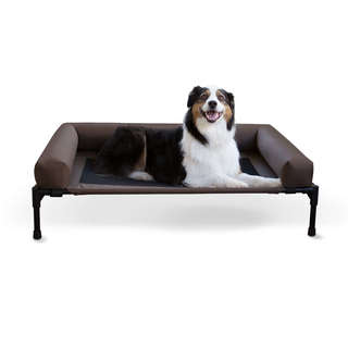 K&H Pet Products Original Bolster Dog Cot and Bed