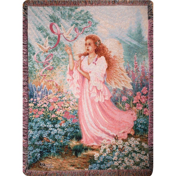 Manual Woodworkers DAWN OF HOPE Multi Color Tapestry Throw