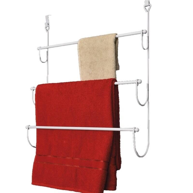 IKEA VOXNAN Wandbord//Handtuchhalter mit Chromeffekt Badablage