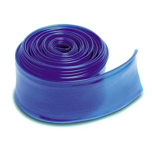 """Transparent  Blue Swimming Pool Filter Backwash Hose - 200' x 1.5"""""""