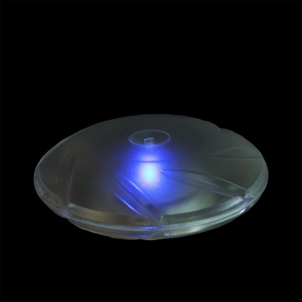 "7.5"" Swimming Pool or Spa Clear Disc Color Changing Floating Solar Light"