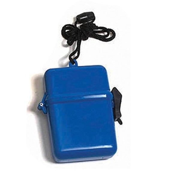 "4.5"" Blue Waterproof Personal Swimming Pool Beach Accessory Case"