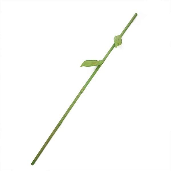 """55.5"""" Green Decorative Spring Floral Stem Rod"""