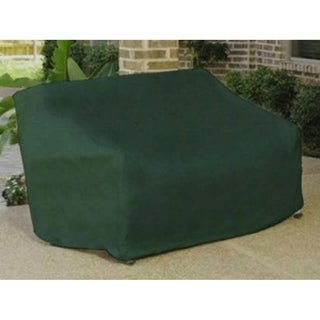 Durable Outdoor Patio Vinyl 3 Seat Glider Chair Cover   Green