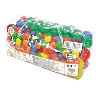 Club Pack of 100 Multi Colored Play Balls 2.5""