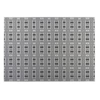 Kavka Designs Grey Crossroads 2' x 3' Indoor/ Outdoor Floor Mat