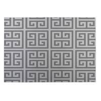 Kavka Designs Grey Infinity Keys 2' x 3' Indoor/ Outdoor Floor Mat