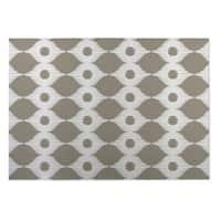 Kavka Designs Ivory/ Taupe Forest Rain 2' x 3' Indoor/ Outdoor Floor Mat