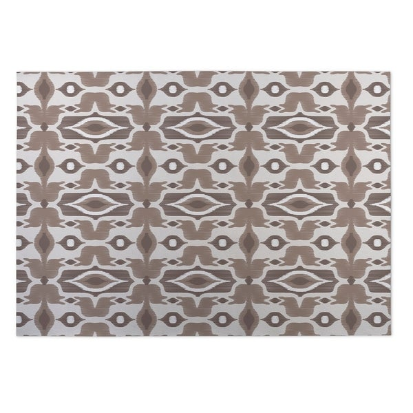 Kavka Designs Ivory/ Taupe Mojave 2' x 3' Indoor/ Outdoor Floor Mat
