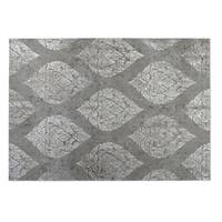 Kavka Designs Grey Ascent 2' x 3' Indoor/ Outdoor Floor Mat
