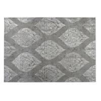 Kavka Designs Grey Ascent 2' x 3' Indoor/ Outdoor Floor Mat