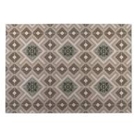 Kavka Designs Tan Tiles 2' x 3' Indoor/ Outdoor Floor Mat