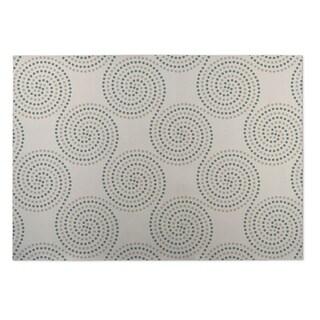 Kavka Designs Ivory Clouds 2' x 3' Indoor/ Outdoor Floor Mat