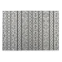 Kavka Designs Ivory Diamante 2' x 3' Indoor/ Outdoor Floor Mat