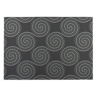 Kavka Designs Grey Clouds 2' x 3' Indoor/ Outdoor Floor Mat