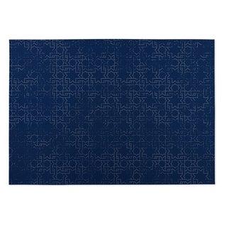 Kavka Designs Navy Beaten Path 2' x 3' Indoor/ Outdoor Floor Mat