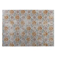 Kavka Designs Ivory/ Rust Mogul 2' x 3' Indoor/ Outdoor Floor Mat