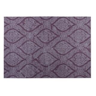 Kavka Designs Lilac Autumn 2' x 3' Indoor/ Outdoor Floor Mat