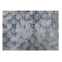 Kavka Designs Grey Milano 2' x 3' Indoor/ Outdoor Floor Mat