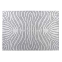 Kavka Designs Grey/ Ivory Safari 2' x 3' Indoor/ Outdoor Floor Mat
