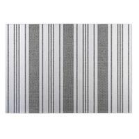 Kavka Designs Grey/ White Sagamore Grey 2' x 3' Indoor/ Outdoor Floor Mat