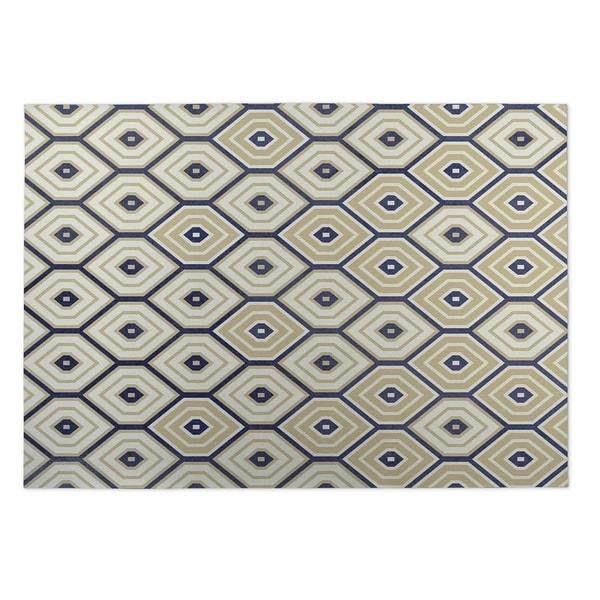 Kavka Designs Sand Hives 2' x 3' Indoor/ Outdoor Floor Mat