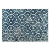 Kavka Designs Denim Hives 2' x 3' Indoor/ Outdoor Floor Mat