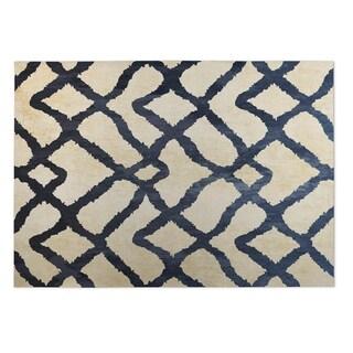 Kavka Designs Ivory Marrakesh 2' x 3' Indoor/ Outdoor Floor Mat