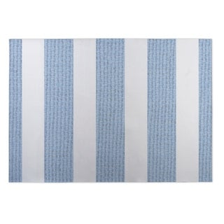 Kavka Designs Blue/ White Centerville Blue 2' x 3' Indoor/ Outdoor Floor Mat