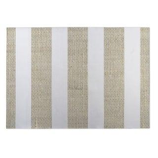 Kavka Designs Gold/ White Centerville Gold 2' x 3' Indoor/ Outdoor Floor Mat