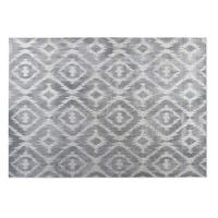 Kavka Designs Grey Omari Gray 2' x 3' Indoor/ Outdoor Floor Mat