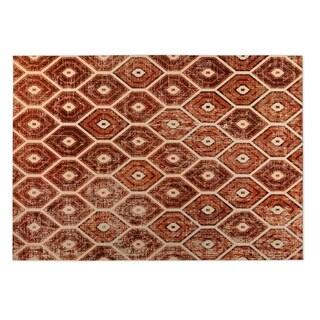 Kavka Designs Rust Hives 2' x 3' Indoor/ Outdoor Floor Mat