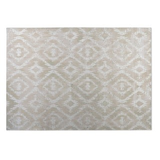 kavka designs ivory omari ivory 2u0027 x 3u0027 indoor outdoor floor mat