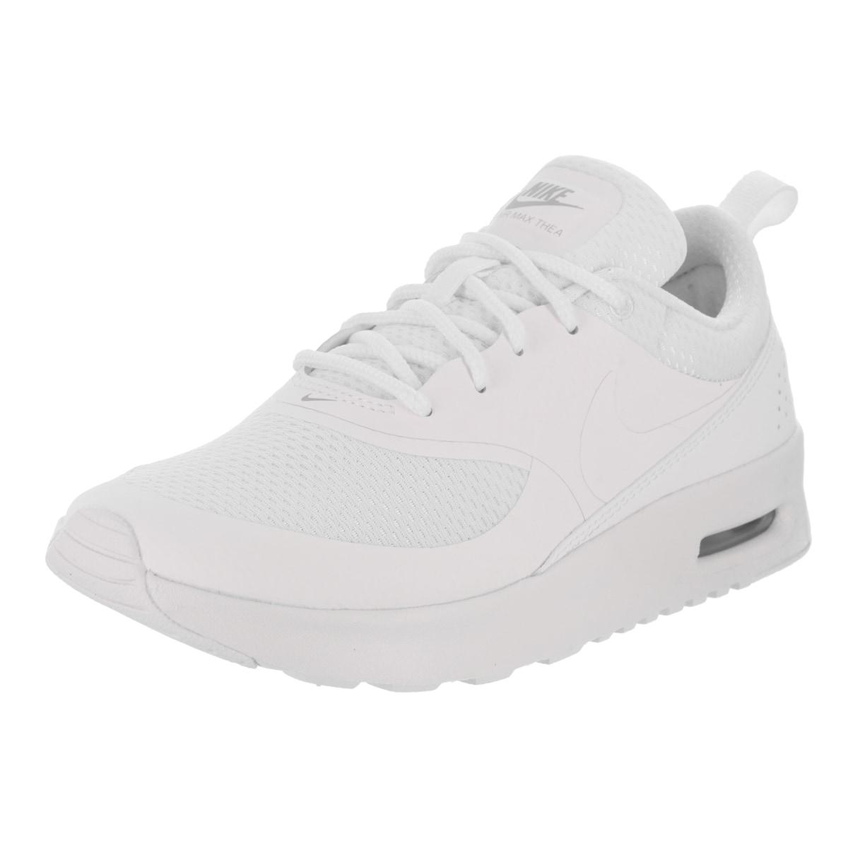 Nike Kids Air Max Thea (PS) Running Shoe (11), Boy's, Whi...