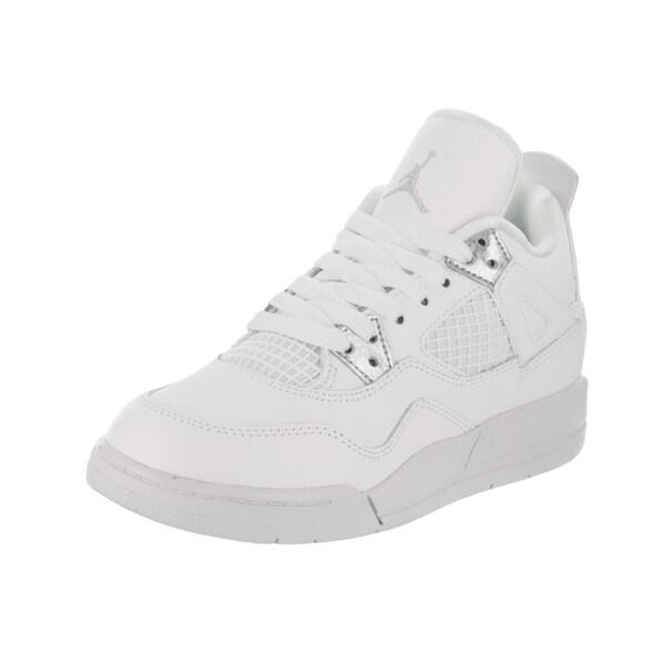 221c08a9630f Shop Nike Jordan Kids Jordan 4 Retro BP Basketball Shoe - Free ...