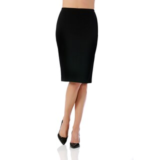 Lamonir Short Pencil Skirt with Elastic Waist