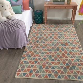 Mohawk Home Bayside Diamond Puzzle Area Rug (3'5 x 5'2)