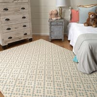 Mohawk Home Bayside Simple Lattice Area Rug (5'3 x 7'10) - 5'3  x  7'10