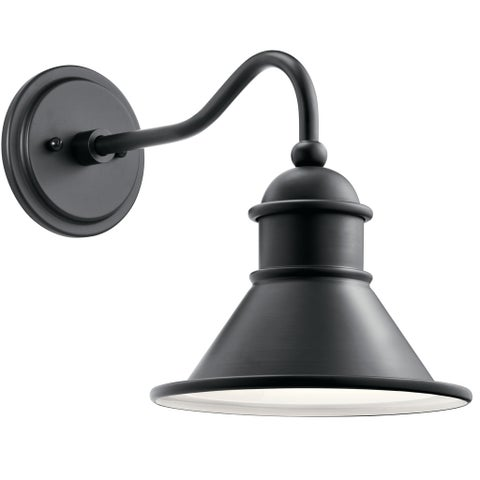 Kichler Lighting Northland 1-light Black Outdoor Wall Sconce