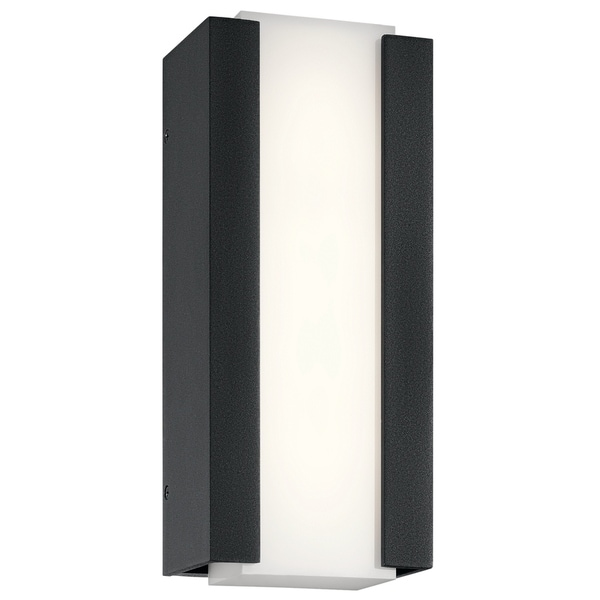 Kichler Lighting Ashton 1 Light Black Outdoor Led Wall Sconce Free Shipping Today 17015988