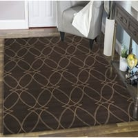 Plaza Brazil Brown Area Rug - 7'10 x 10'6