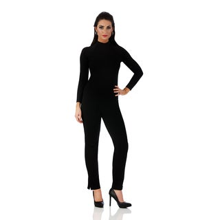 Lamonir Straight Leg Pant with Slit
